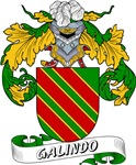 Galindo Family Crest / Galindo Coat of Arms