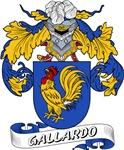 Gallardo Family Crest / Gallardo Coat of Arms