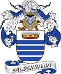 Valderrama Family Crest / Valderrama Coat of Arms