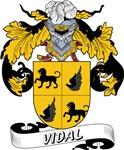Vidal Family Crest / Vidal Coat of Arms