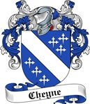 Cheyne Family Crest, Coat of Arms