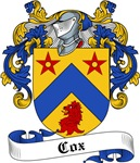 Cox Family Crest, Coat of Arms