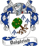 Dalgleish Family Crest, Coat of Arms