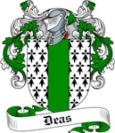 Deas Family Crest, Coat of Arms