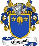 Dingwall Family Crest, Coat of Arms
