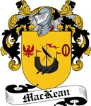 MacKean Family Crest, Coat of Arms
