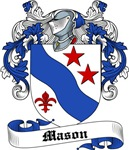 Mason Family Crest, Coat of Arms