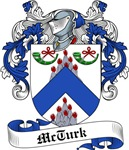 McTurk Family Crest, Coat of Arms