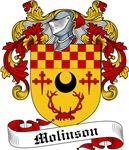Molinson Family Crest, Coat of Arms