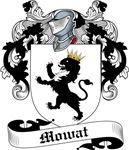 Mowat Family Crest, Coat of Arms