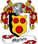 Myrton Family Crest, Coat of Arms