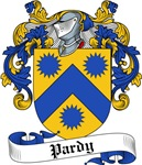Pardy Family Crest, Coat of Arms