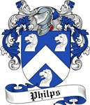 Philips Family Crest, Coat of Arms