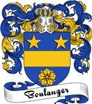 Boulanger Family Crest, Coat of Arms