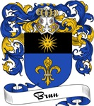 Brun Family Crest, Coat of Arms