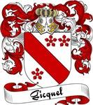 Gicquel Family Crest, Coat of Arms