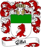 Gillet Family Crest, Coat of Arms