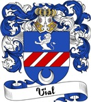 Vial Family Crest, Coat of Arms
