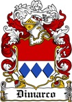 Dimarco Family Crest, Coat of Arms