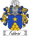 Fabbrini Family Crest, Coat of Arms