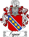 Fagnani Family Crest, Coat of Arms