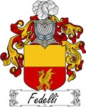 Fedelli Family Crest, Coat of Arms