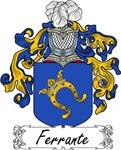 Ferrante Family Crest, Coat of Arms