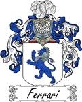 Ferrari Family Crest, Coat of Arms