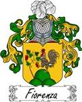 Fiorenza Family Crest, Coat of Arms