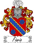 Fiorio Family Crest, Coat of Arms