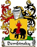 Dembinsky Family Crest, Coat of Arms