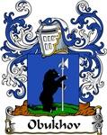 Obukhov Family Crest, Coat of Arms