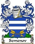 Semenov Family Crest, Coat of Arms