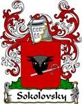 Sokolovsky Family Crest, Coat of Arms