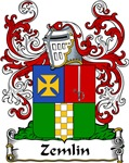 Zemlin Family Crest, Coat of Arms
