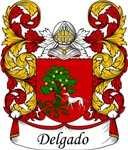 Delgado Family Crest, Coat of Arms
