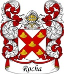 Rocha Family Crest, Coat of Arms