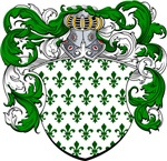 Hoppen Family Crest, Coat of Arms