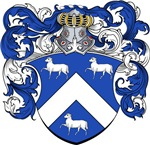 Lamme Family Crest, Coat of Arms