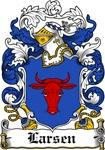 Larsen Coat of Arms, Family Crest