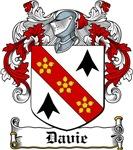 Davie Coat of Arms, Family Crest