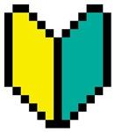 Pixel Wakaba / Shoshinsha Mark