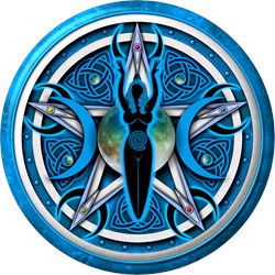 Pentacle of the Blue Goddess