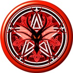 Fire Dragon Pentacle