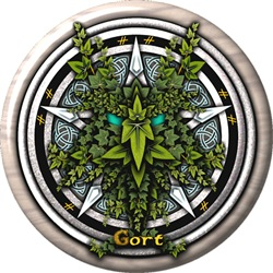 Ivy Celtic Greenman Pentacle