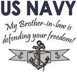 My Brother-in-law is defending your freedom!