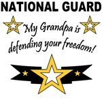 My Grandpa is defending your freedom!