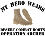 Operation Archer Hero Desert Combat Boots