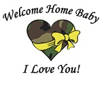 Welcome Home Camo Heart
