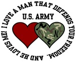 US Army - I love a man that defends your freedom